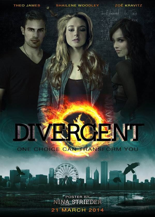 divergent four movie poster - photo #7
