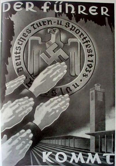 German NS propaganda poster http://www.germaniainternational.com/Images4/PatrioticSignHeilHitler-016s.jpg