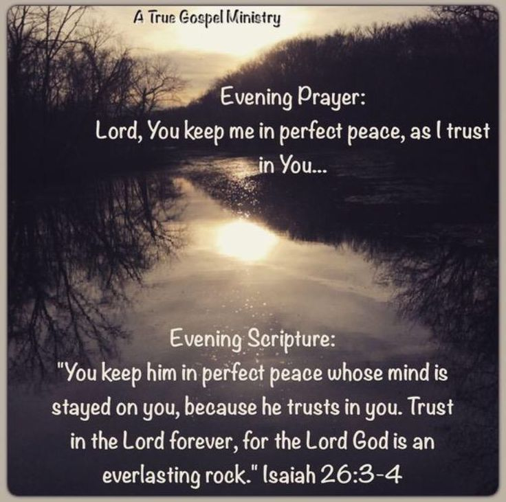 8 Evening Prayers To End Your Day Bible Verses Quotes