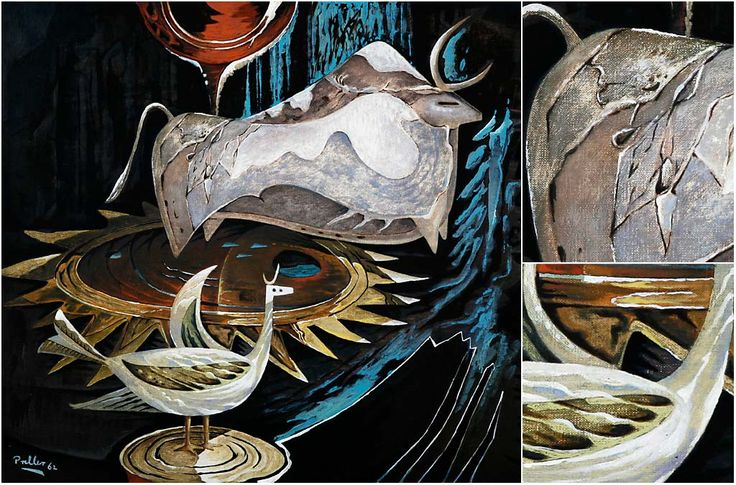 South African artist, Alexis Preller.                  @ Clive Hassall Photography