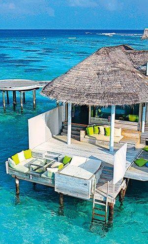 Hip hotel: Six Senses Laamu, Maldives #elleau #travel #maldives