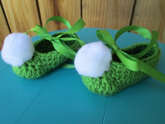 Tinkerbell Inspired slippers by BerniceMatisse on Etsy, $18.00 ...