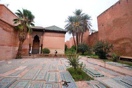 Les tombeaux Saadiens, datent de l´époque du sultan Ahmed Al mansour Saadi
