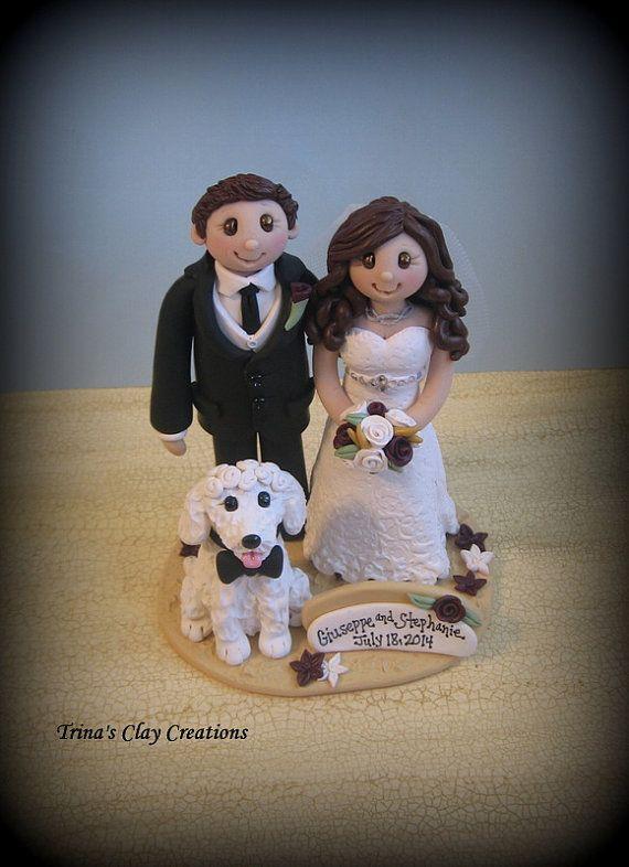Wedding Cake Topper Custom Wedding Topper Bride Groom