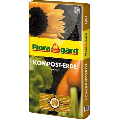 Floragard Kompost-Erde 1 x 60 l