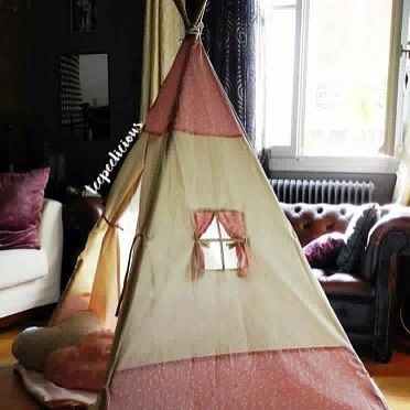 Our trigona #teepee in #pink #girly #teepeelicious #roomdesign #glamping #eventplanner #giftideas