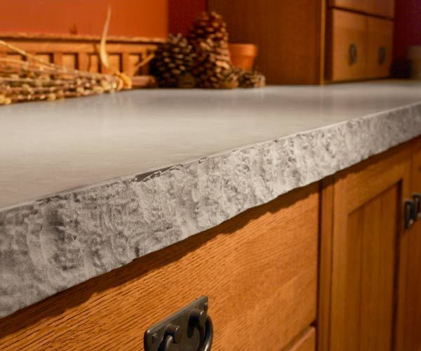 Just about any edge profile that you can get with stone can be replicated with quartz. Your fabricator will help you select an edge that suits your kitchen's style and the countertop's thickness—typically ½, ¾, or 1¼ inches—and will shape the profile using a template provided by the manufacturer. Fabricators can also do custom designs, such as a chiseled, raw edge (shown here) or a gently cascading three-level waterfall-style profile. Keep in mind that the more complex the edge, the higher…