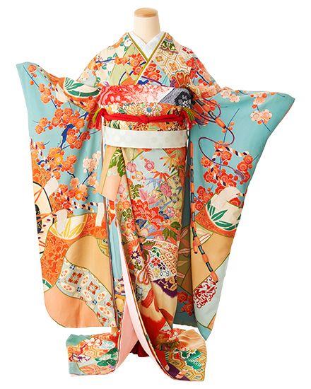 Wedding Kimono - antique kimono colette