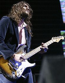 John Frusciante - Guitar God.  Former guitarist of the RHCP.  His solo work enthralls me.  So much emotion and feeling in his music.  His guitar sounds pull at my heart strings.  He is definitely my favorite artist of all time.  Thank you for your music, JF.