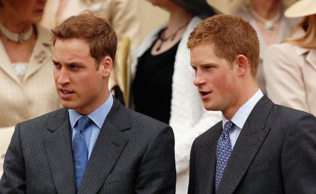 Prince Harry Windsor and Prince William Windsor