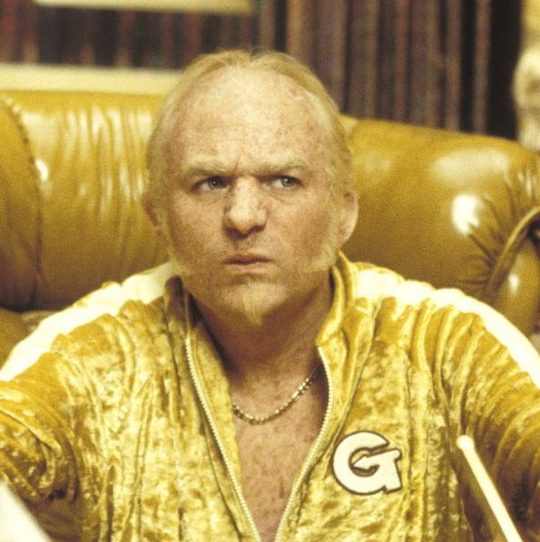 Goldmember (from Austin Powers in Goldmember, 2002). Portrayed by Mike Myers