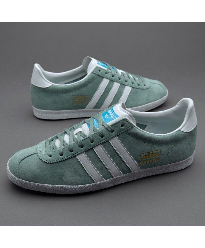 Adidas Sale Originals Gazelle Og Legend Green Trainers