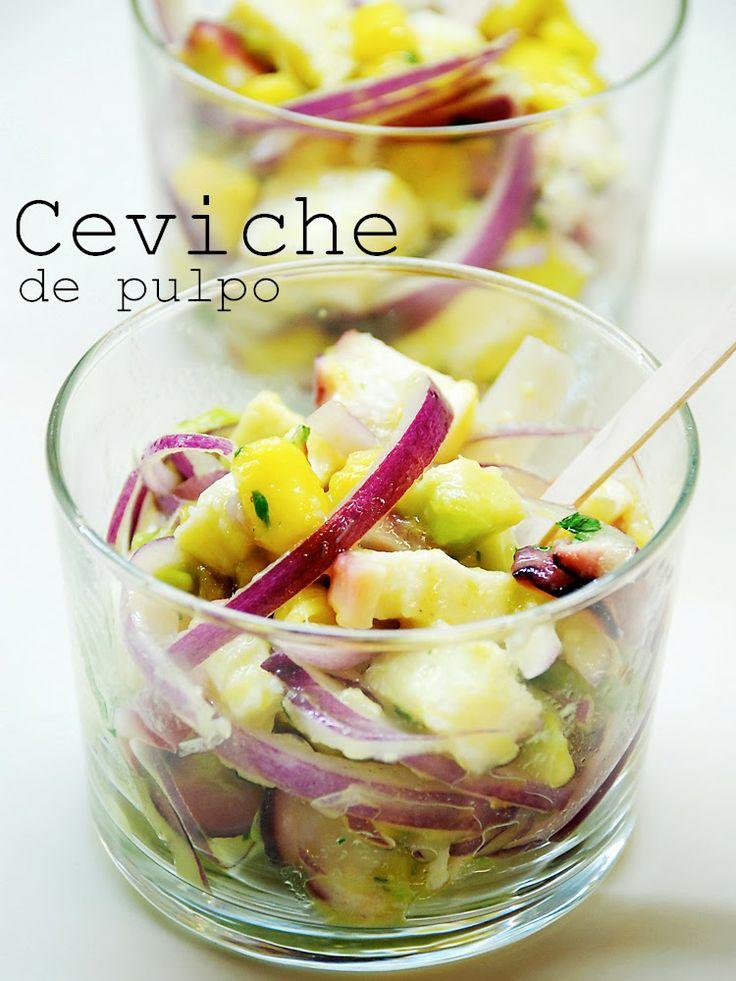 Ceviche de Pulpo / Octopus Ceviche