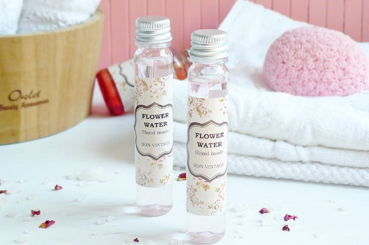 Натуральный розовый тоник ручной работы - розовая вода для всех типов кожи