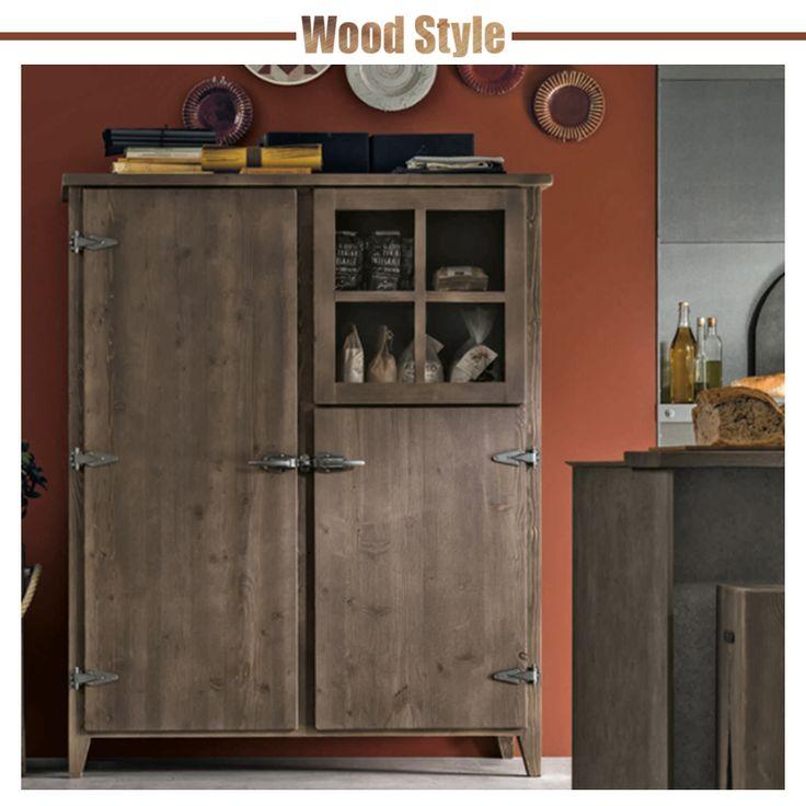Top Oltre 25 fantastiche idee su Credenza legno grezzo su Pinterest  CO74