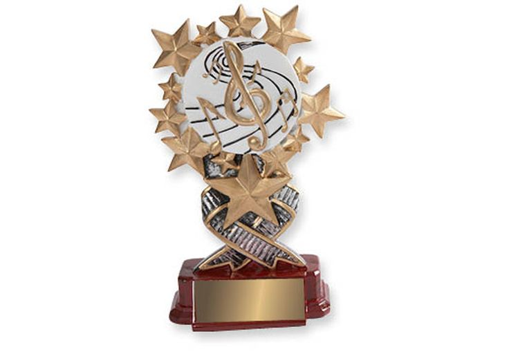 CLEF/STARS TROPHY - 7""