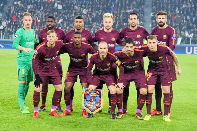 EQUIPOS DE FÚTBOL: BARCELONA contra Juventus 22/11/2017 Liga de Campeones