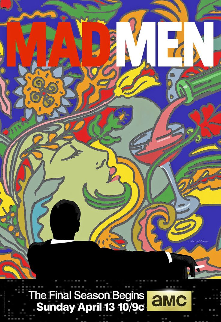 'Mad Men' EnlistsMilton Glaser to design the poster for the final series sete in the 70's
