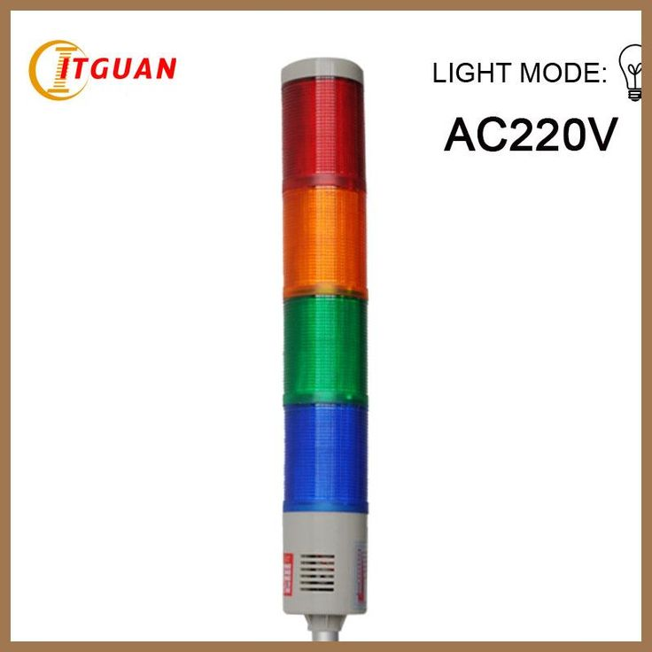 Tower light signals Lta-205 AC220V tower light 4 camadas luz de aviso de alarme Industrial Strobe Light torre Signal Beacon