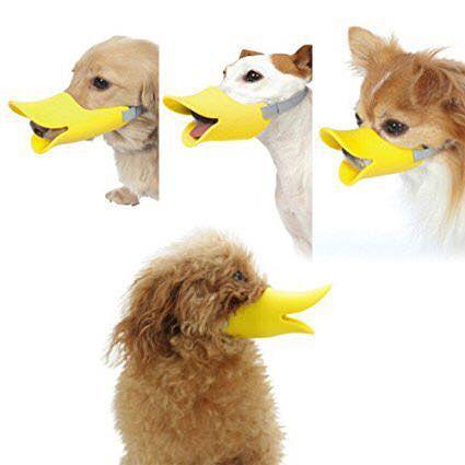 Anti biting & barking duck bill for dogs