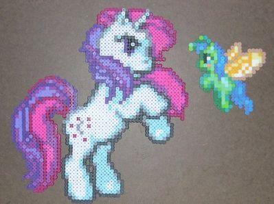 my little pony bead sprite!