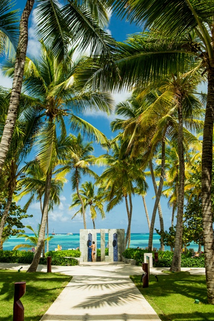 Punta Cana, Dominican Republic.  To book go to www.notjusttravel.com/anglia