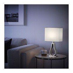 IKEA - KLABB, テーブルランプ, , 柔らかな光が広がるテキスタイルシェード。ソフトで心地よい雰囲気を演出できます