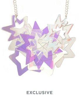 Cosmic Star Statement Necklace £145 (sale £116) - AW16 Cosmic Galaxy