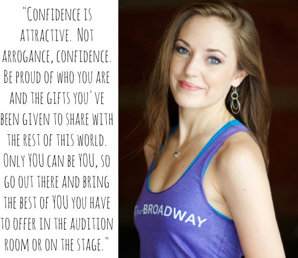 Broadway Quote from Laura Osnes on Fit for Broadway