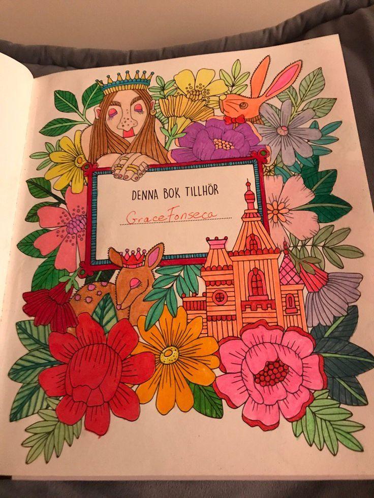 Pin by Grace Fonseca on Sagor Och Sagnor Coloring Book