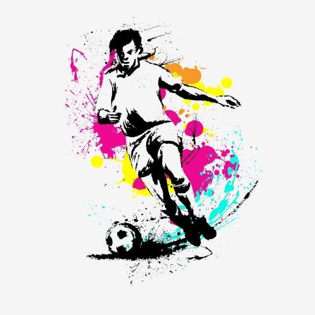 ألوان مائية سبلاش سبلاش ستايل كرة القدم كرة القدم كارتون كرتون كرة القدم لاعب كرة قدم رياضي Png صورة للتحميل مجانا Watercolor Splash Cartoons Png Cartoon