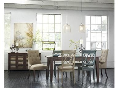 Get Your Mestler   Dark Brown Rectangular Dining Room Table At Price  Busters Furniture, Baltimore MD Furniture Store.