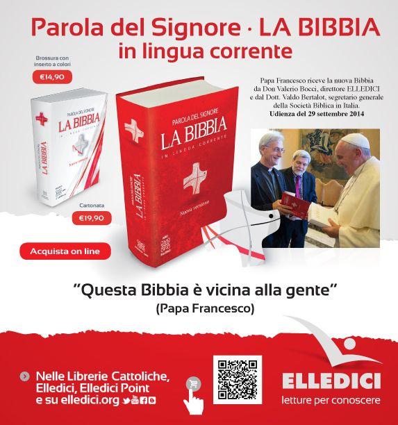 The 45 best bblia la bible la sacra bibbia images on pinterest parola del signore la bibbia in lingua corrente 2014 elledici editrice nel fandeluxe Choice Image