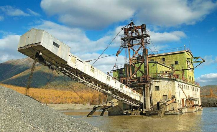 Small Gold Mining Dredges : Best images about placer mining around the world on