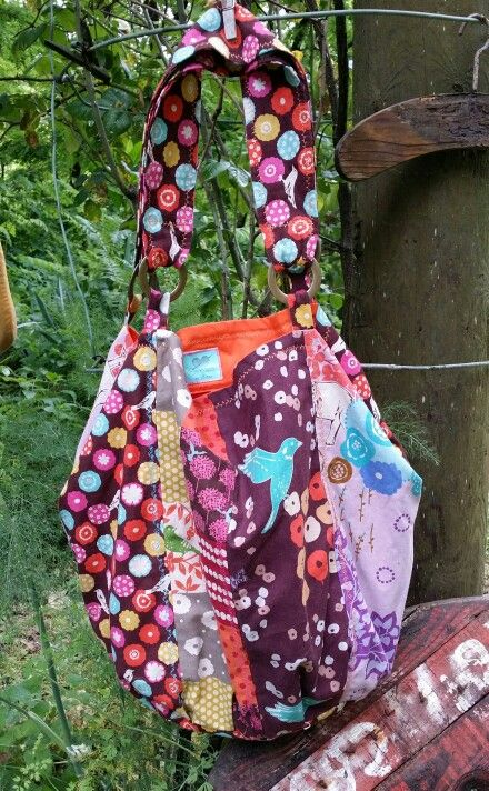 "#handmade #unique #bags  ""Where the wild things are"" one of a kind sac by order at thescrapstoriches@gmail.com"