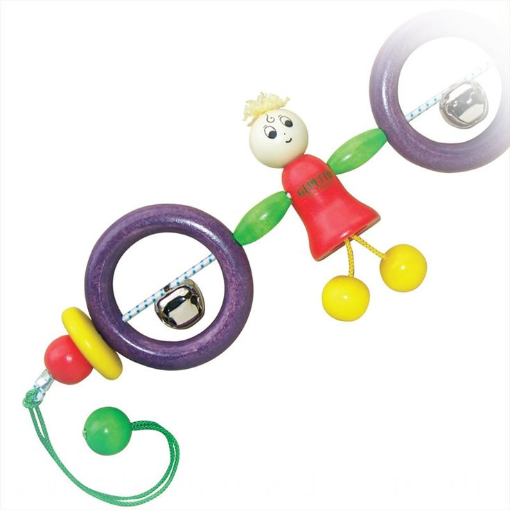 Gepetto Toycraft - Pram Rattle - Sally Doll - Hugs For Kids