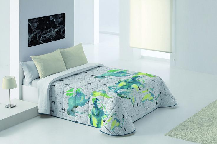 Sorteo Edredon Conforter Mapas Para Cama De 90cm Edredones