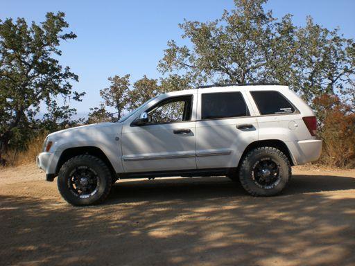 WK Lift kit, Jeep Grand Cherokee, WK 2005, 2006, 2007, 2008, 2009, 2010 Suspension lift