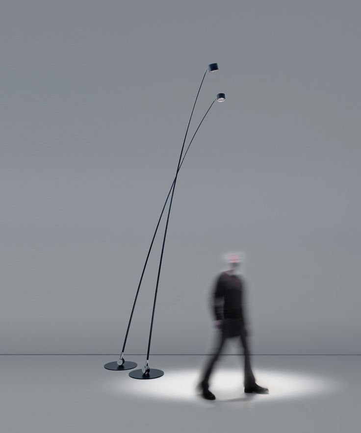 """Sampei"", a floor standing pendant light (like Arco or Twiggy)) by Davide Groppi that has won an Elle Decoration International design award."