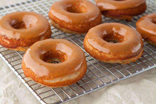 Gluten Free, Dairy Free, Refined sugar free, Yeast free, Corn Free, Grain Free  Carmel Apple Doughnuts