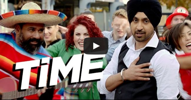 "--- Time – Diljit Dosanjh Sardaarji Movie ""Time"" is a song from Punjabi Movie Sardaarji starring Diljit Dosanjh, Neeru Bajwa, Mandy Takhar & Jaswinder Bhalla in leading roles.The Song is sung by Diljit Dosanjh, its music is composed by Jatinder Shah and lyrics written by Veet Baljit. http://www.punjabimeo.com/time-diljit-dosanjh-sardaarji-movie/"