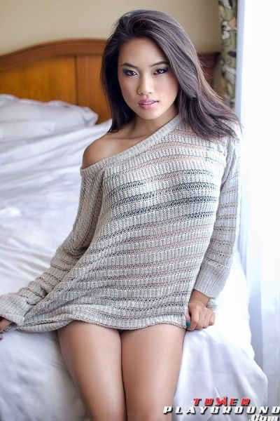 Hot sexy asian model