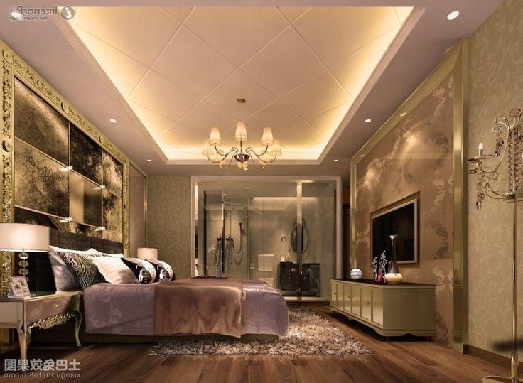 Gypsum Ceiling Modern Designs Pertaining To Gypsum Ceiling