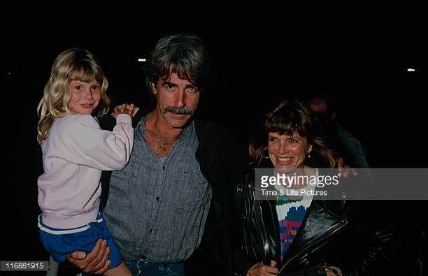 STATES Actor Sam Elliott and wife Katharine Ross circa 1990