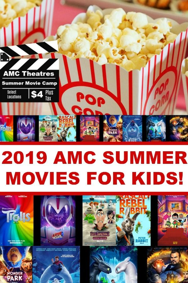 2019 amc theatre summer movies deal for kids