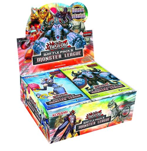 Yu Gi Oh Battle Pack 3 Monster League Booster Box Trading Cards