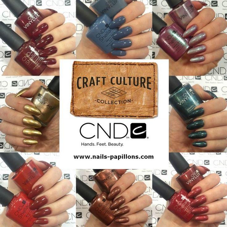 CND SHELLAC - CRAFT CULTURE (vernis semi permanent): Nouvelle collection automne!