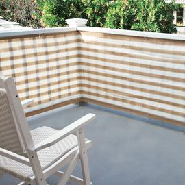 exclusive! Keep prying eyes out, let cool breezes in with Privacy Screen.