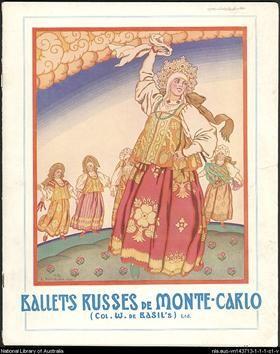 Poster of Russian Ballet - Ivan Bilibin