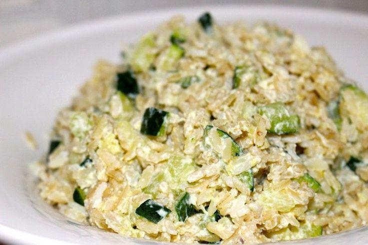 La dernière fois,mon chéri a cuisiné pour lui [le midi] et il a fait comment dire…beaucoup trop de riz… Du coup, il en restait une bonne grosse portion au frigo… Hors de question…